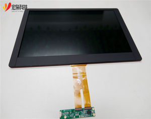 USB PCAP 15.6 inch 1920x1080 lcd display + touch screen hmi open frame