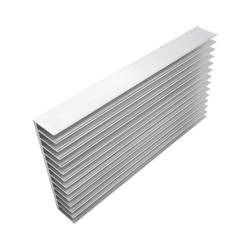 220x120x28mm Aluminum Board LED Heatsink Radiator  for COB L
