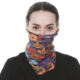 Neck Scarf Neck Warmer Jiabao Multi Use Polyester Neck Tube Warmer Head Scarf Scarves Face Mask Women Bandana