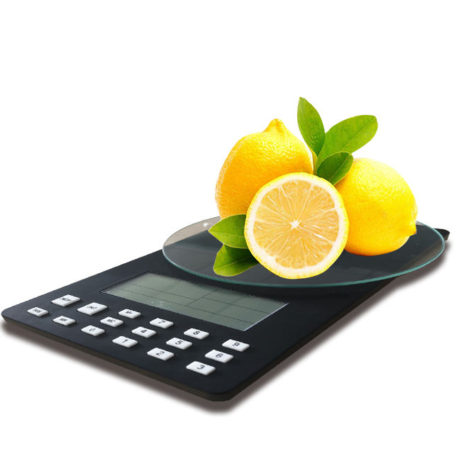 2021 5kg High Accuracy Smart Slim Kitchen Food Scale with Electronic Food Calorie Counter Function
