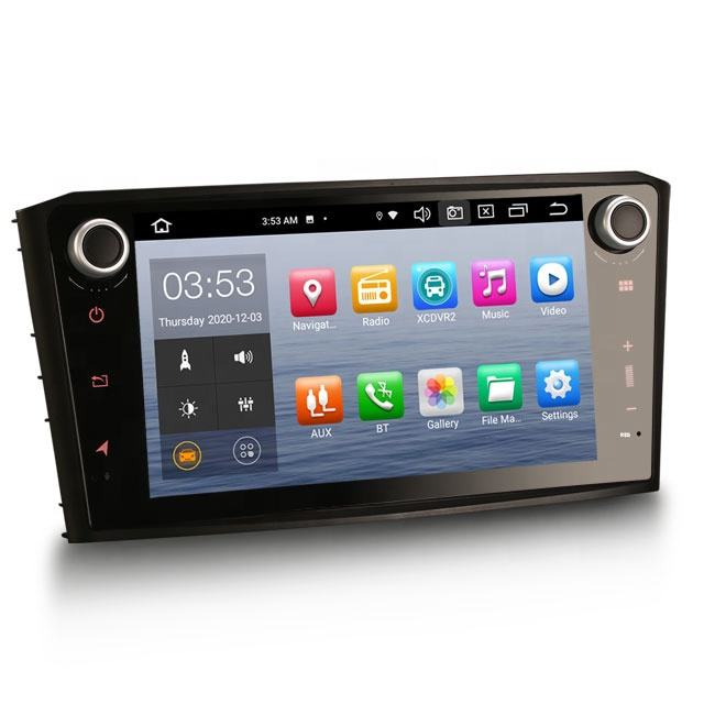 Erisin ES8107A Android Car Dvd Player Với 4 Gam WiFi DAB TPMS Carplay DSP Cho TOYOTA AVENSIS T25