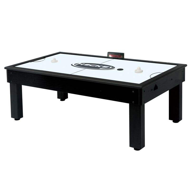 jiujiang city OEM air hockey game table 7ft,wholesale factory direct sale ODM logo printed air hockey table