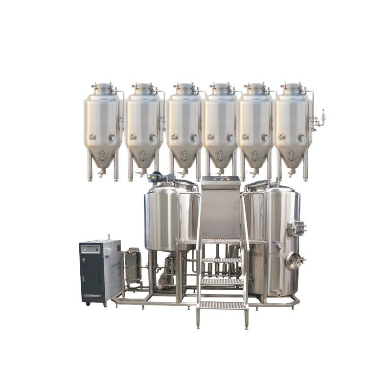High quality 100L 200L laboratory beer brewing equipment with beer fermentation system for college brewery teaching equipment