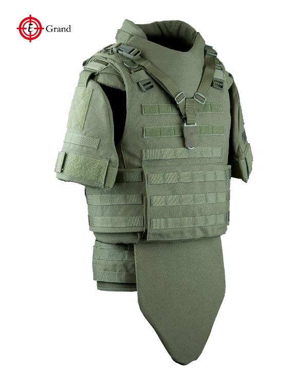 Professional manufacturer wholesale UHMWPE or armid NIJ lightweight full protection body armor