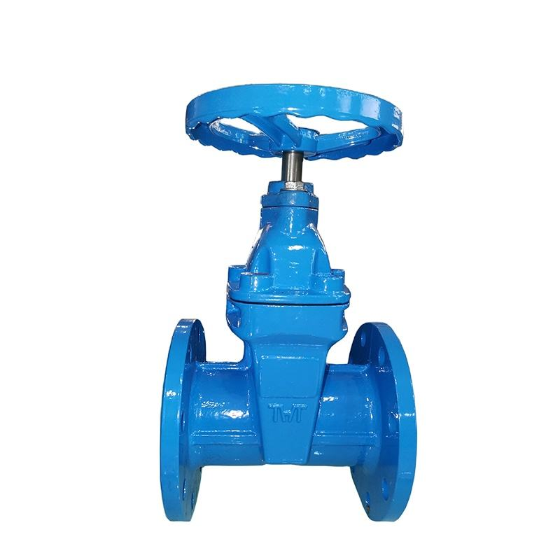 PN16 flanged ductile iron gate valve with dimensions