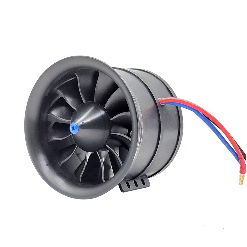 Hot Sale Excellent 70MM 6S 2300KV Brushless RC Jet Plane Edf For RC Airplane Model Accessories
