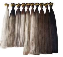 Best Virgin Hair Extensions Factory Full And Soft Russian 100% Human hair extensions Handtied Weft Hair Extensions