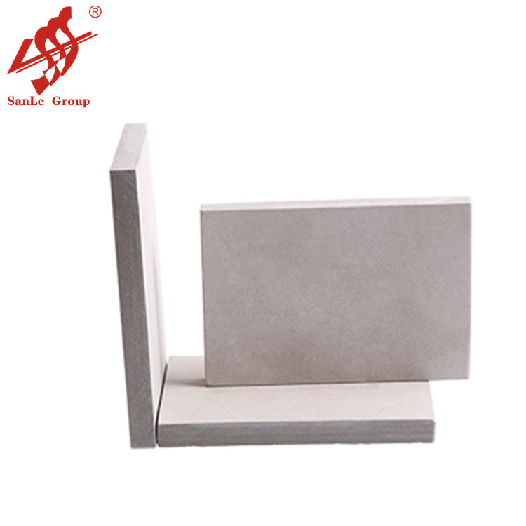 1220*2440mm light gray color Calcium silicate board for wall partition