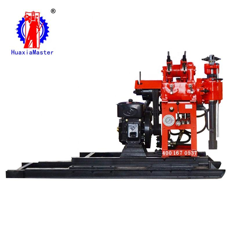 HZ-130YY core drill hydraulic well drill can easily cope with a variety of complex geological drilling machines