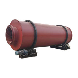 High Quality1.9 x8-3.9 x16m Three Drums Rotary Dryer 600-1500 kg/Process Oil Gas Electric Dryer Sawdust Wood Dryer Machine