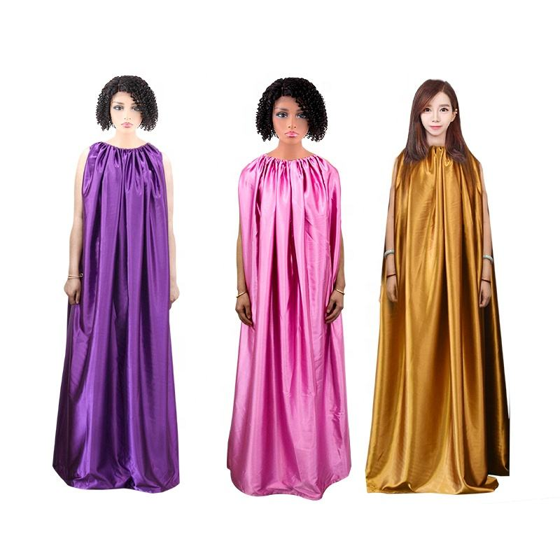Private label custom Yoni Steam Gown V-Steam high quality different color Vaginal Steaming Hip Bath Robe