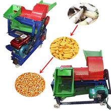 Farm maize corn shelling thresher machine fresh corn threshing husker machine new model corn soybean sorghum sheller for sale