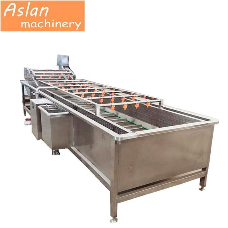 automatic leaf vegetable washer/potato washing machine/chili pepper cleaning machine