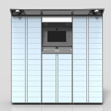 Smart Automatic Chilled Parcel Delivery Locker