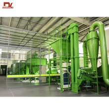 Dingli Patented Food Leftover Drying Production Line for Wasted Food Recycle in Middle East