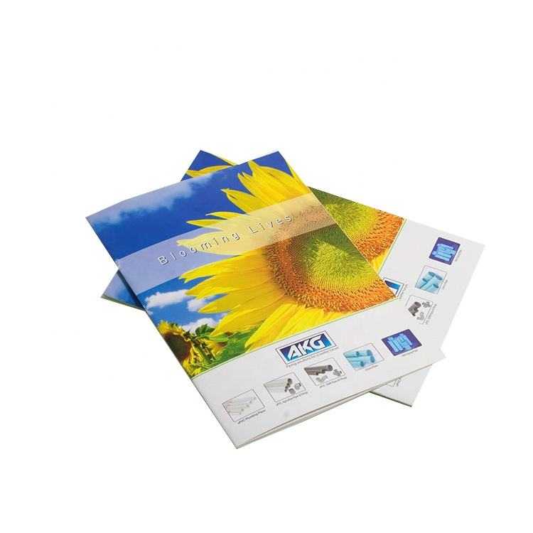 Best quality colorful printing catalogue/brochure/DM flyers/poster for children clothes