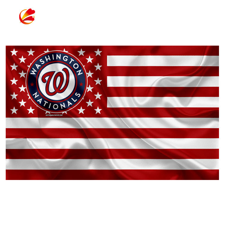 3x5FT Polyester MLB Washington Nationals Flagge Banner