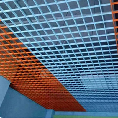2020 Aluminum Suspended Open Cell Grid Metal Ceiling