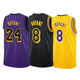 Latest Design Embroidery #8/#24 Lakers Kobe Bryant Custom Basketball star Jerseys/Wear Uniforms Custom new product ideas 2020