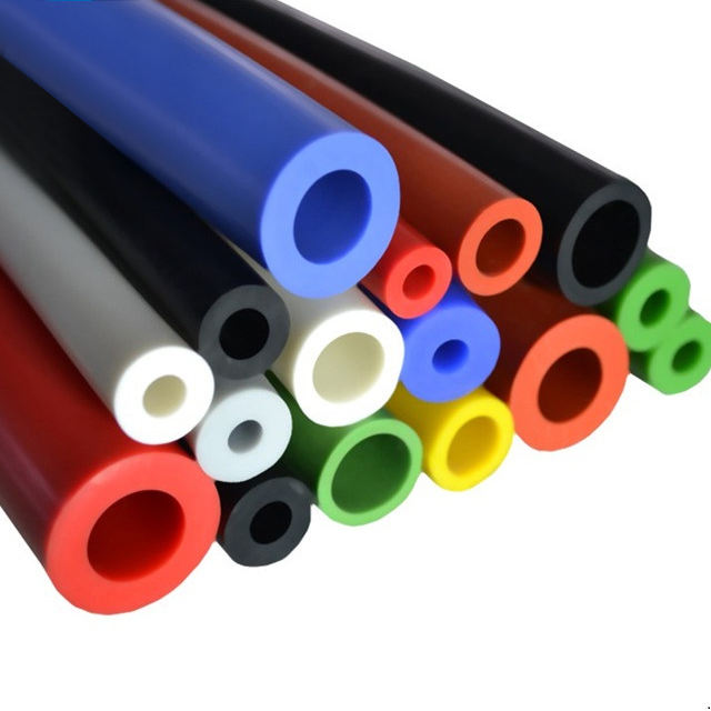 Custom Soft Tear Resistant Silicone Rubber Tube Hose