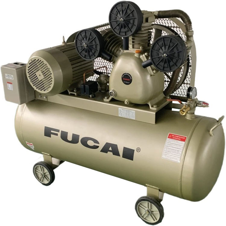 FUCAI factory direct compresor de aire piston 11kw 1.6M3/min piston air compressor