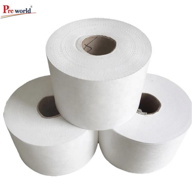 China factory suppliers PP meltblown nonwoven fabric spunbond meltblown fabric non woven fabric rolls for mask