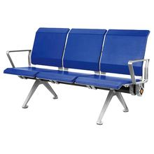 Hospital clinic waiting room bench chairs 3-seater airport seating airport link chairs
