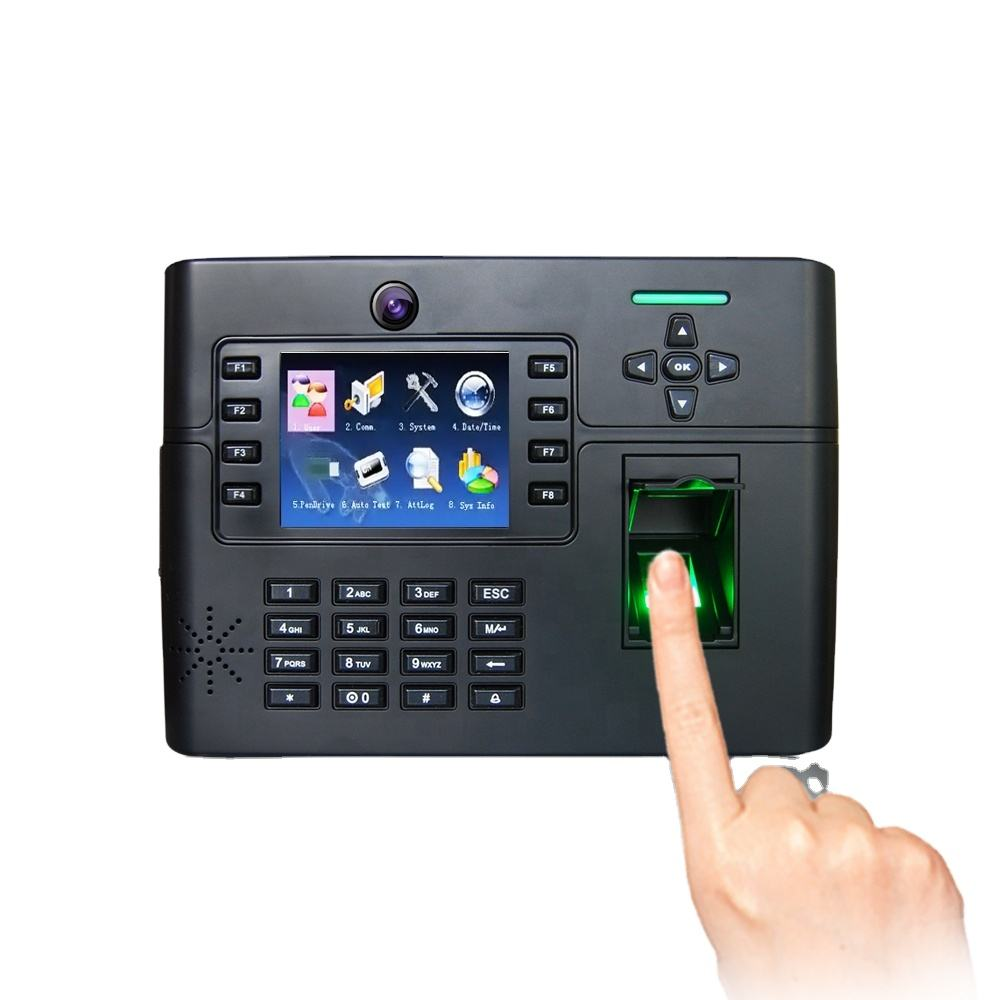 WIFI Communication Big Fingerprint Capacity Access Control and Time Attendance System with Function Key