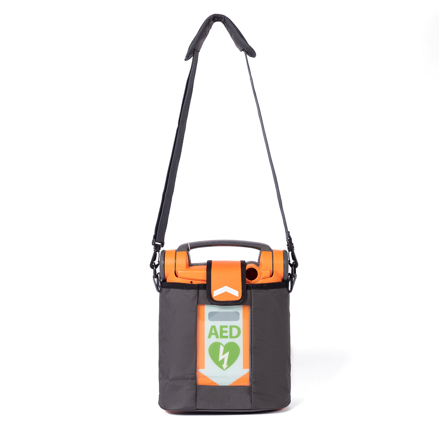 Customized Nylon Waterproosoft AED medical bag carry defibrillator with handle and shoulder strap for first Aid use