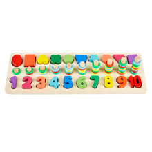 Numbers Mathmatic Children Learning Montessori Educational Toys