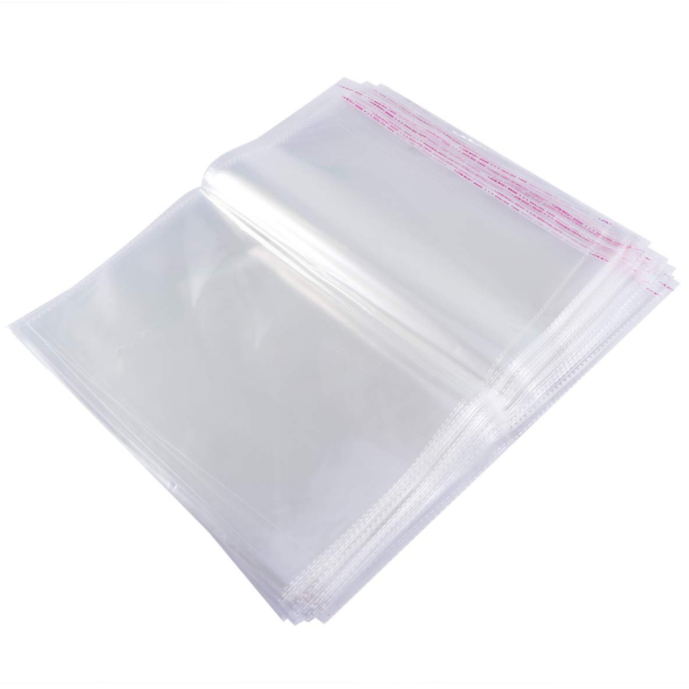 Hot sale self adhesive opp bags Clear Pouches Self Seal Adhesive OPP Bags Package for clothes