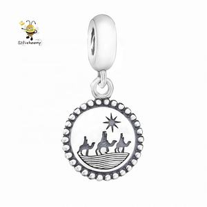 Camel pingente Dangle Bead Charme Para Pulseira Marca 925 Sterling Silver pendant jewelry making supplies 925