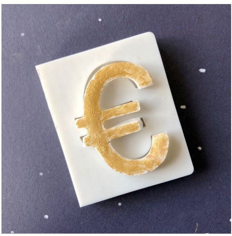 Dollar Euro RMB Pound Currency Symbol Money Sign Silicone Fondant Mold Chocolate Mold Cake Decoration Tools USD Cake mold