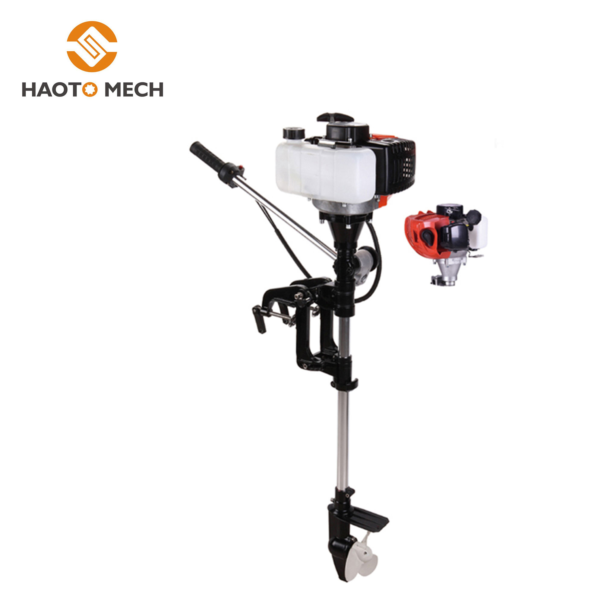 High quality 52cc 2 Stroke Boat Motor Sailing Outboard Engine