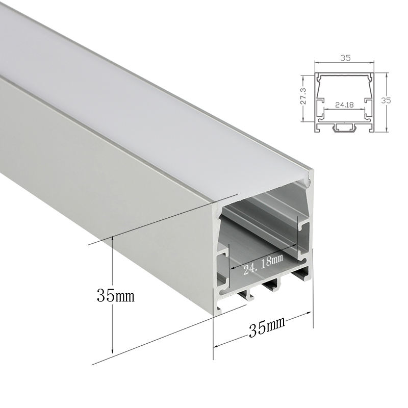 Shenzhen Surmountor Linear Light LED Strip LED Lighting Aluminium Profile