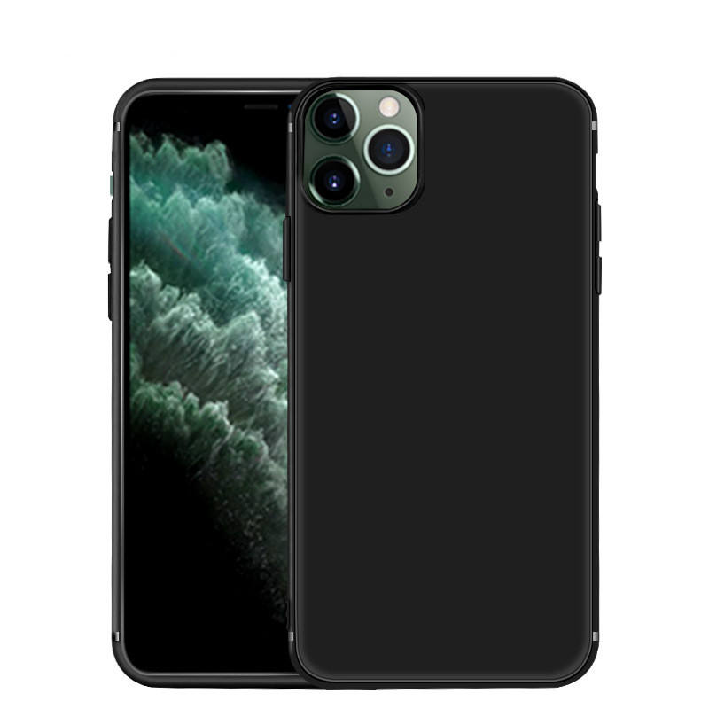 High quality Soft TPU Phone Case Supple Frosted Ultra Slim Tpu Mobile Phone Case TPU Case for iPhone 11/12 ProMax