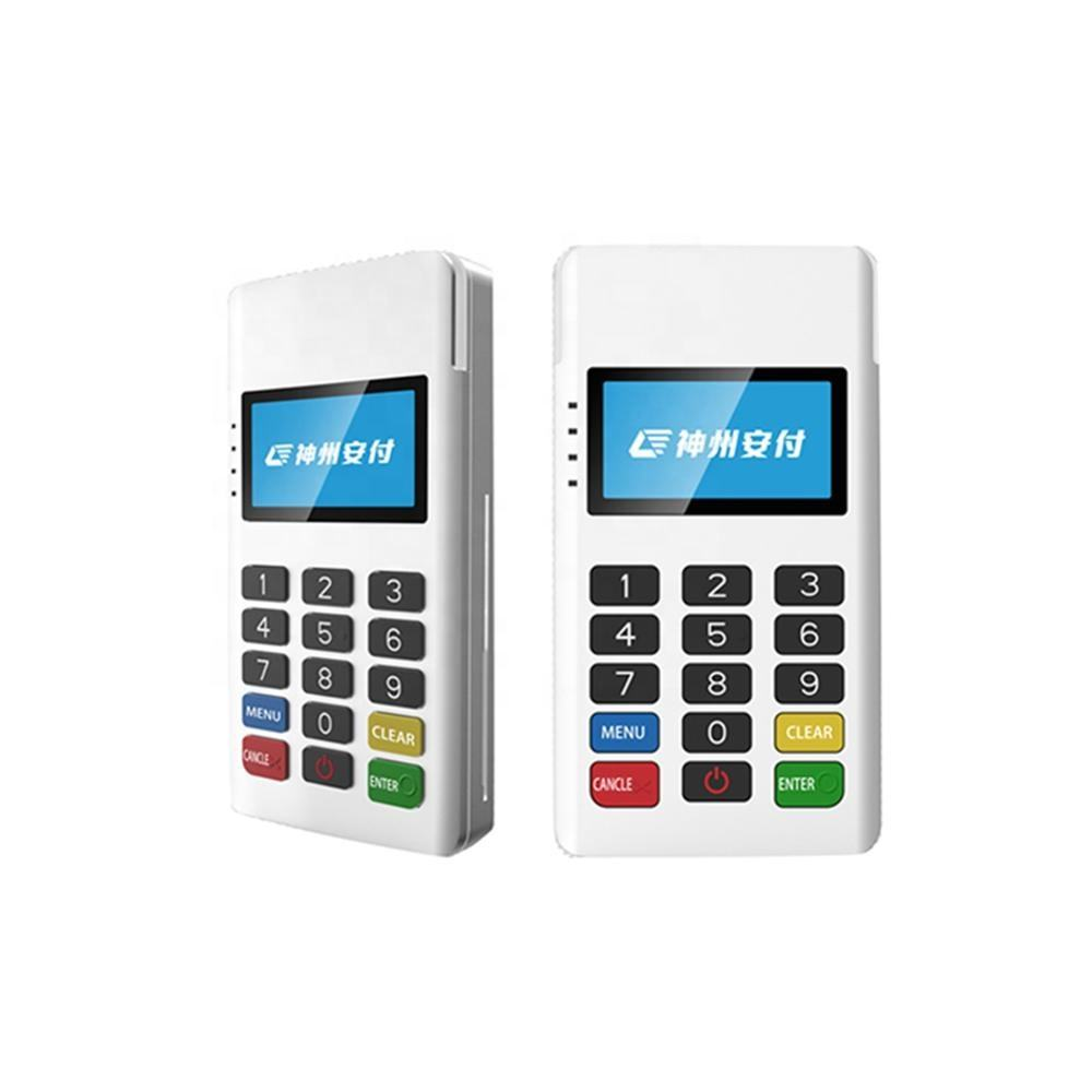Mobile Handheld tragbare Android pos terminal Mpos terminal EMV PCI NFC karte leser