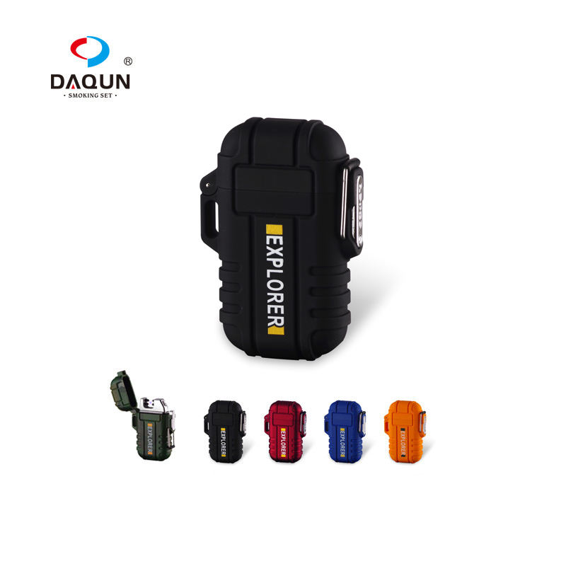 Rechargeable Dual Arc Plasma Lighter for Camping Hiking Surval