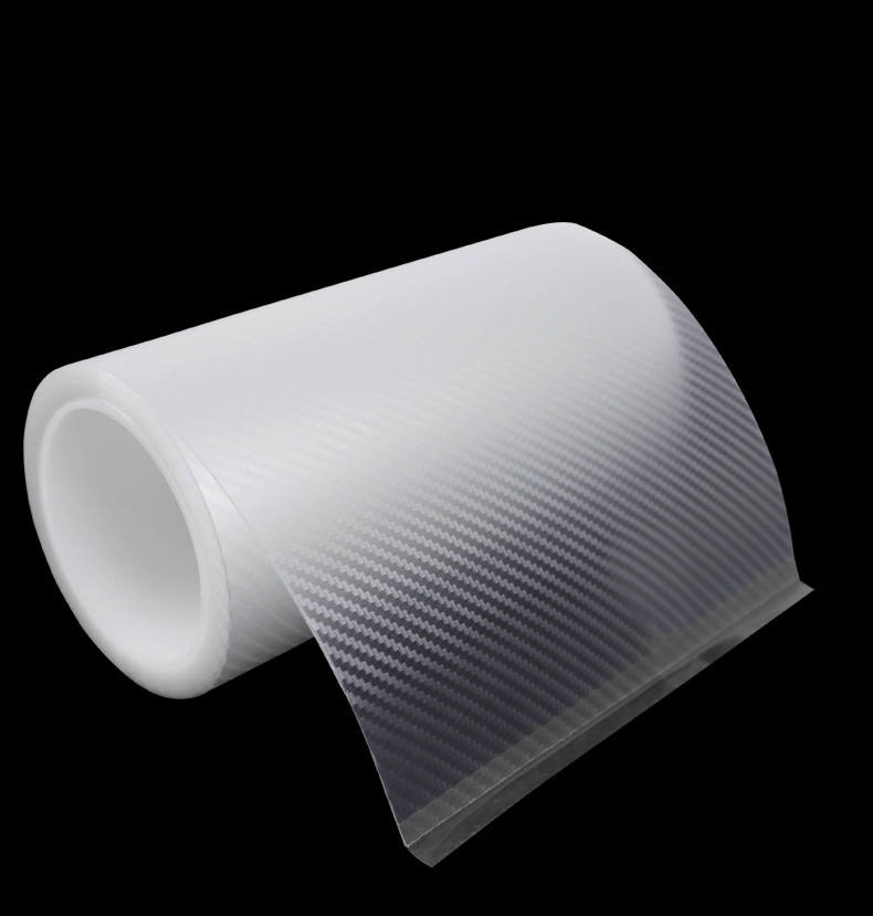 Car Wrap Roll Film Anti Scratch Carbon Fiber Vinyl film DIY 3D Transparent High Adhesive Acrylic Tape No Residue Sticker