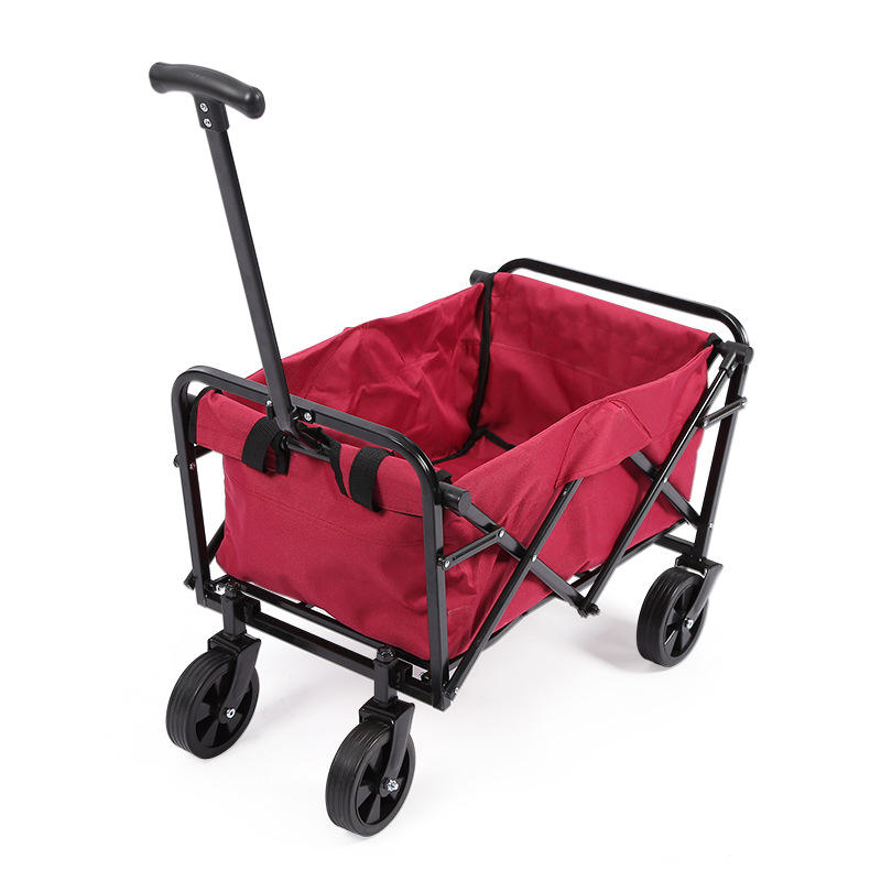 ActEarlier New Arrival Collapsible Folding Garden Outdoor Park Utility Wagon Picnic Camping Cart
