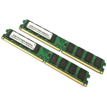 Reliable quality best computer  memory DDR2 2GB desktop ram memory 100% tested