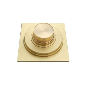 Bathroom clean room shower deodorant brass floor drain