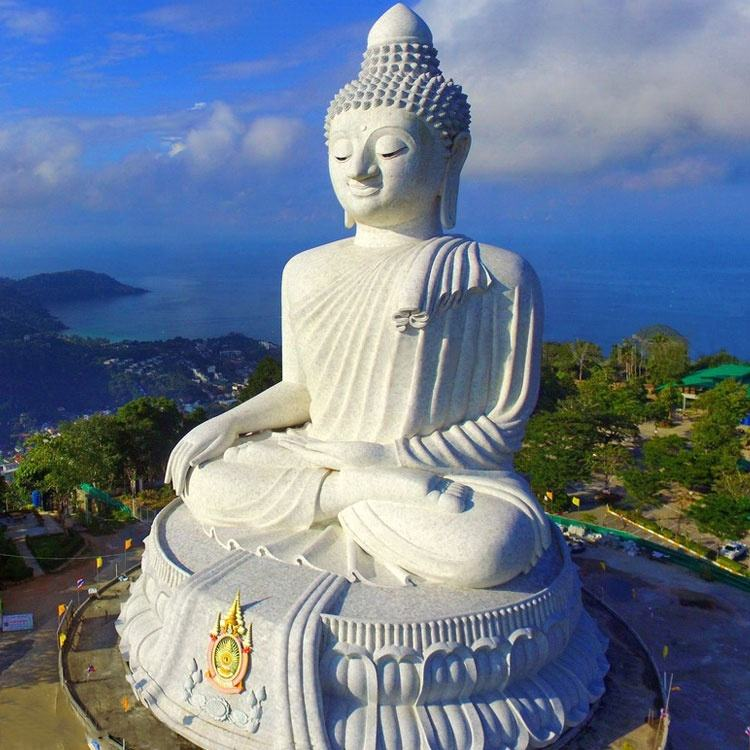 Marble Large Stone Buddha Statue For Sale