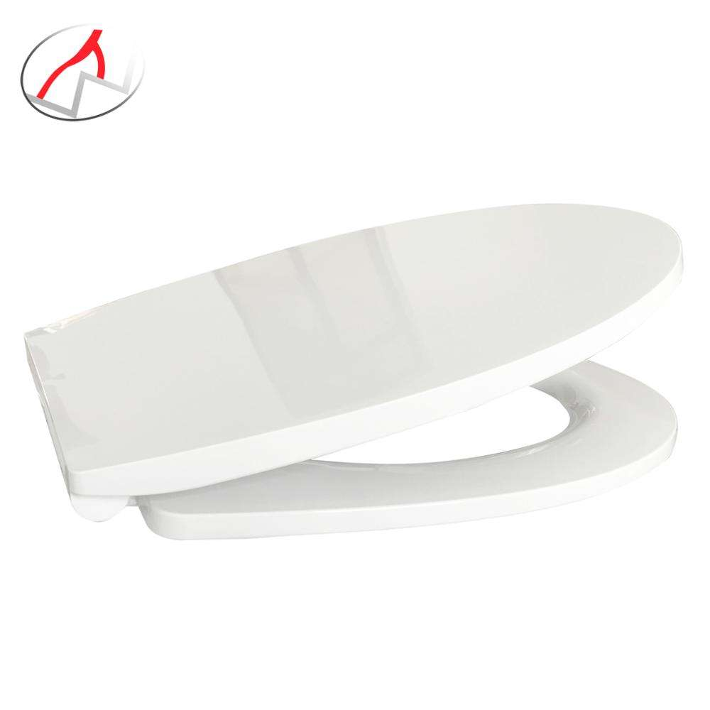 top rated round-front pp wide round white shape plastic european cheap oval shaped toilet seat cover lids