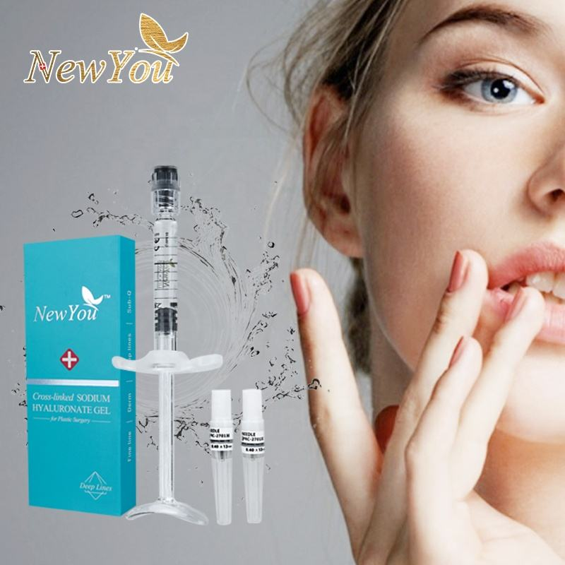 injection cross-linked dermal filler long lasting natural beauty hyaluronic acid safe with CE certificate