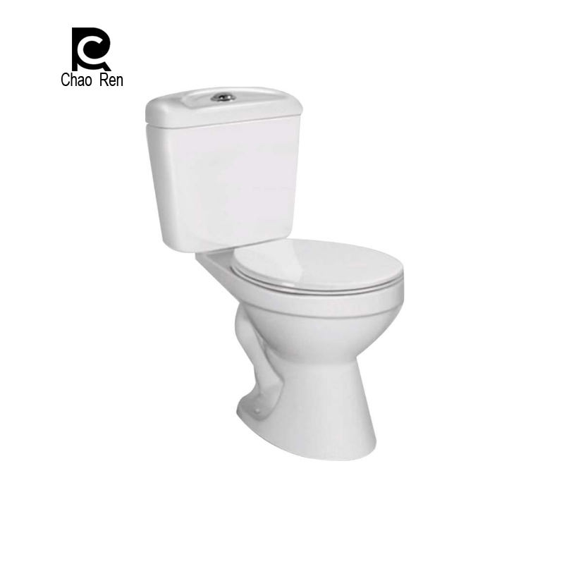 Ceramic bathroom sanitary ware china portable toilet siphonic two-piece toilet