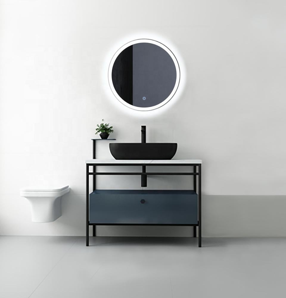 backlit led hotel china supplier bathroom vanities bathroom mirror round