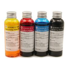 Ocbestjet China Supplier 100ML/Bottle 4 Colors Refill Edible Ink For HP 803 Coffee Printer