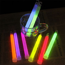 6inch multicolor Glow Stick Chemical light stick Camping Emergency decoration Party clubs supplies Chemical Fluorescent