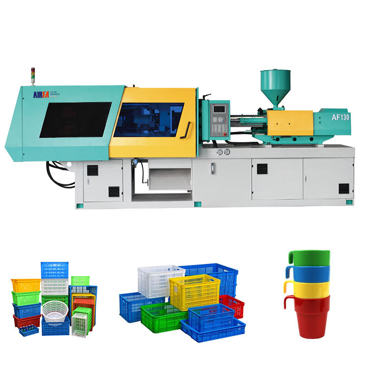 Plastic Paint Bucket Containers Box Making Machine Plastic Crate Injection Molding Moulding Machine for Plastic Fruit Basket